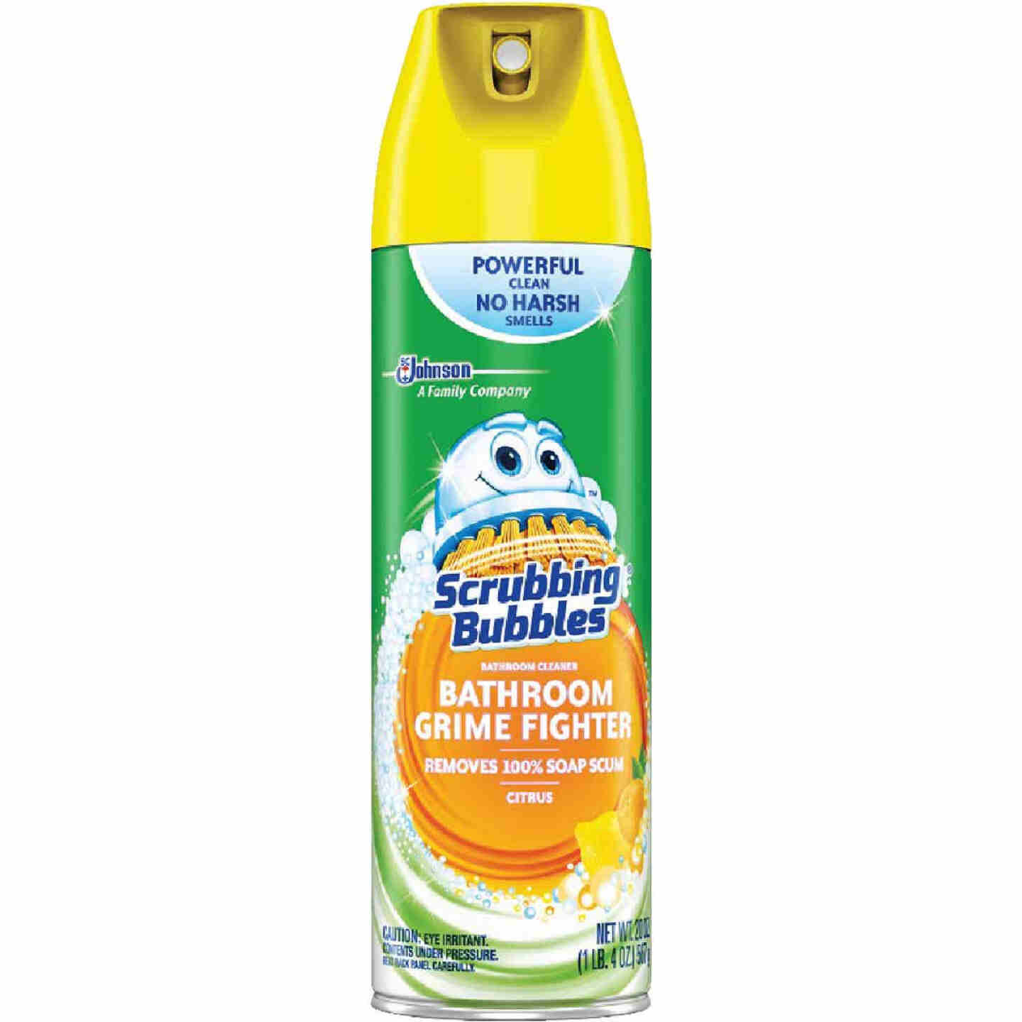 Scrubbing Bubbles 20 Oz. Citrus Disinfectant Penetrating Foam Bathroom Cleaner Image 1
