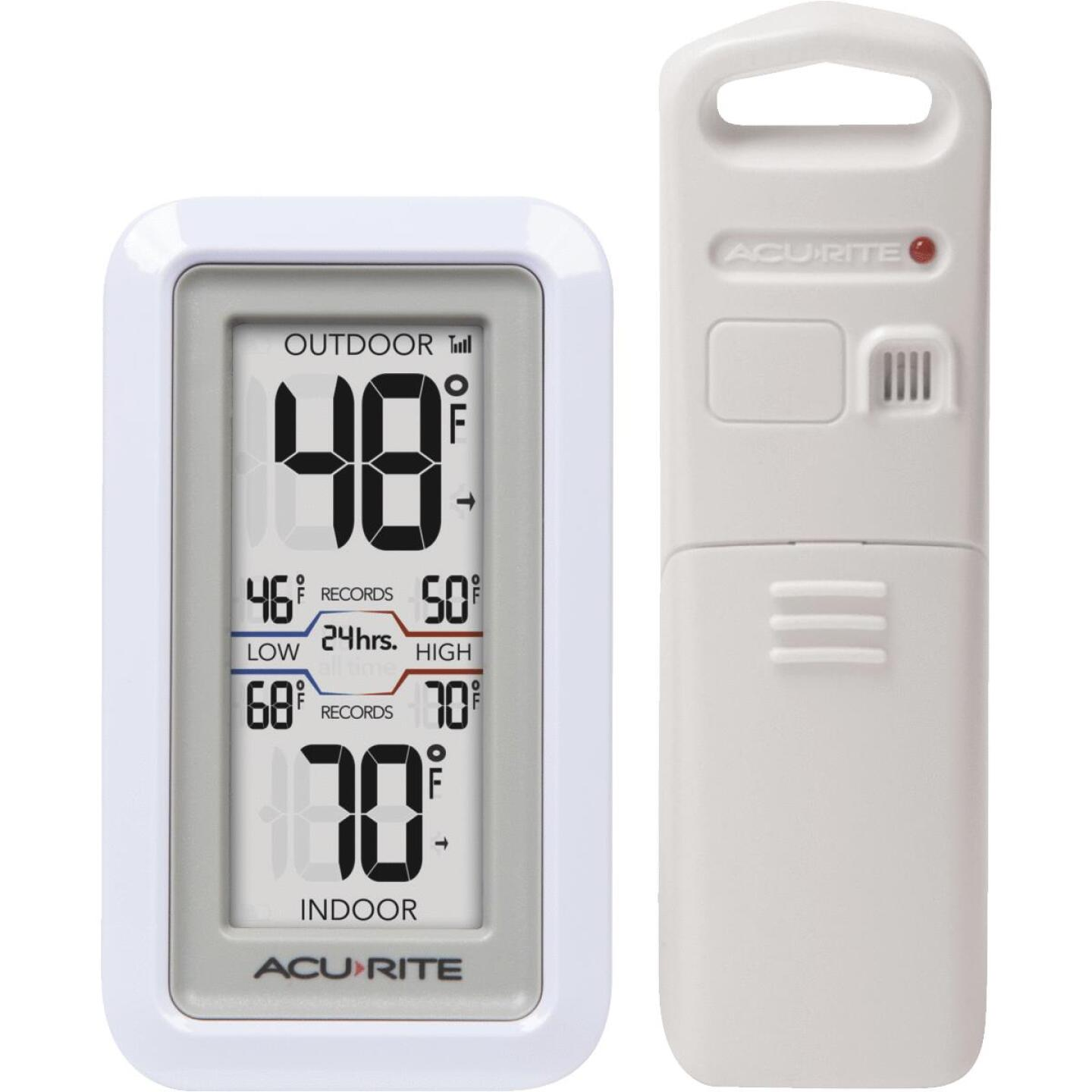 Acu-Rite Digital Thermometer with Indoor/Outdoor Sensor Image 1