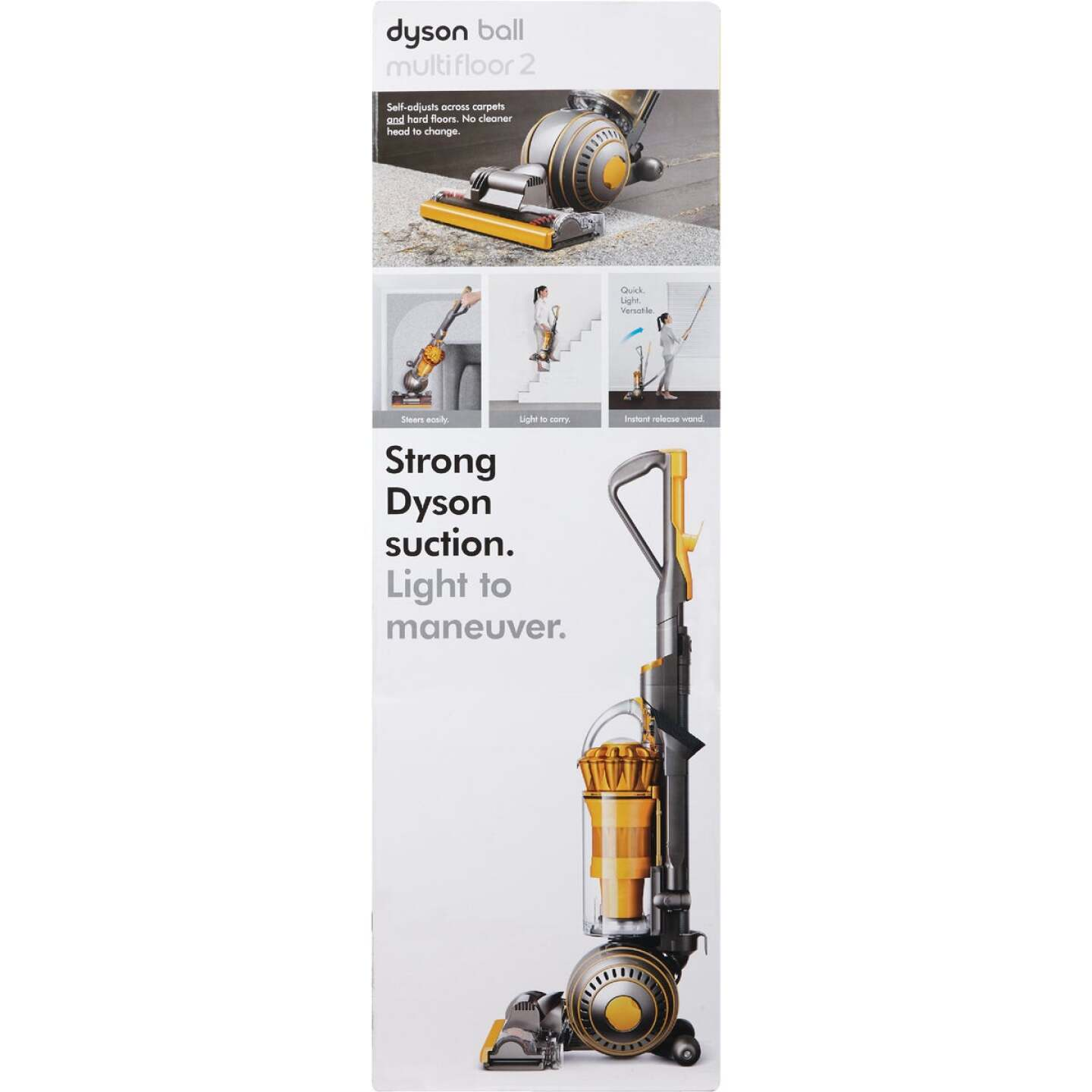Dyson Ball Multi Floor 2 Bagless Upright Vacuum Cleaner Image 2