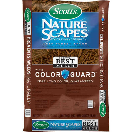 Scotts Naturescapes 2 Cu. Ft. Deep Forest Brown Shredded Hardwood Mulch