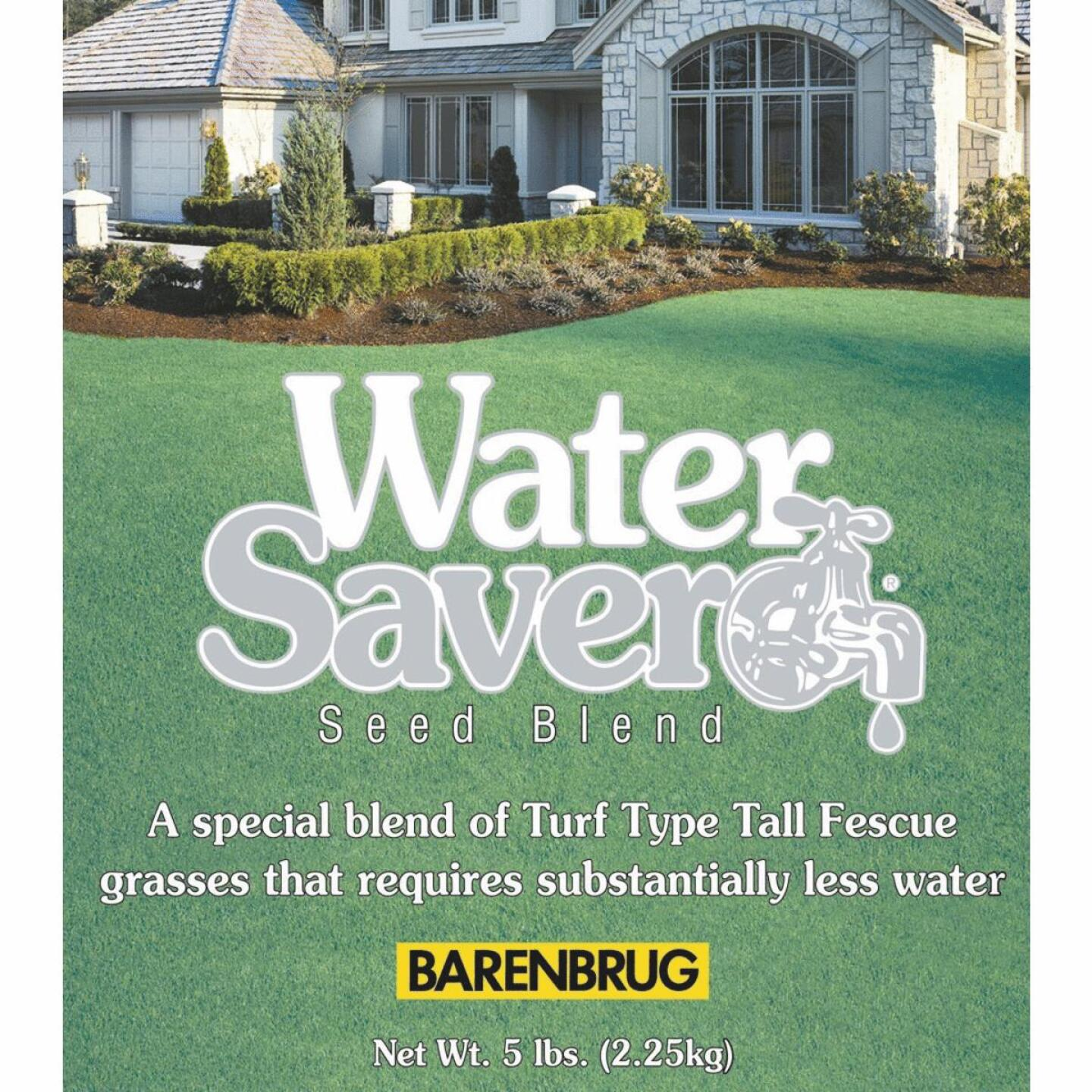 Water Saver 25 Lb. 2500 Sq. Ft. Coverage Tall Fescue Grass Seed Image 2