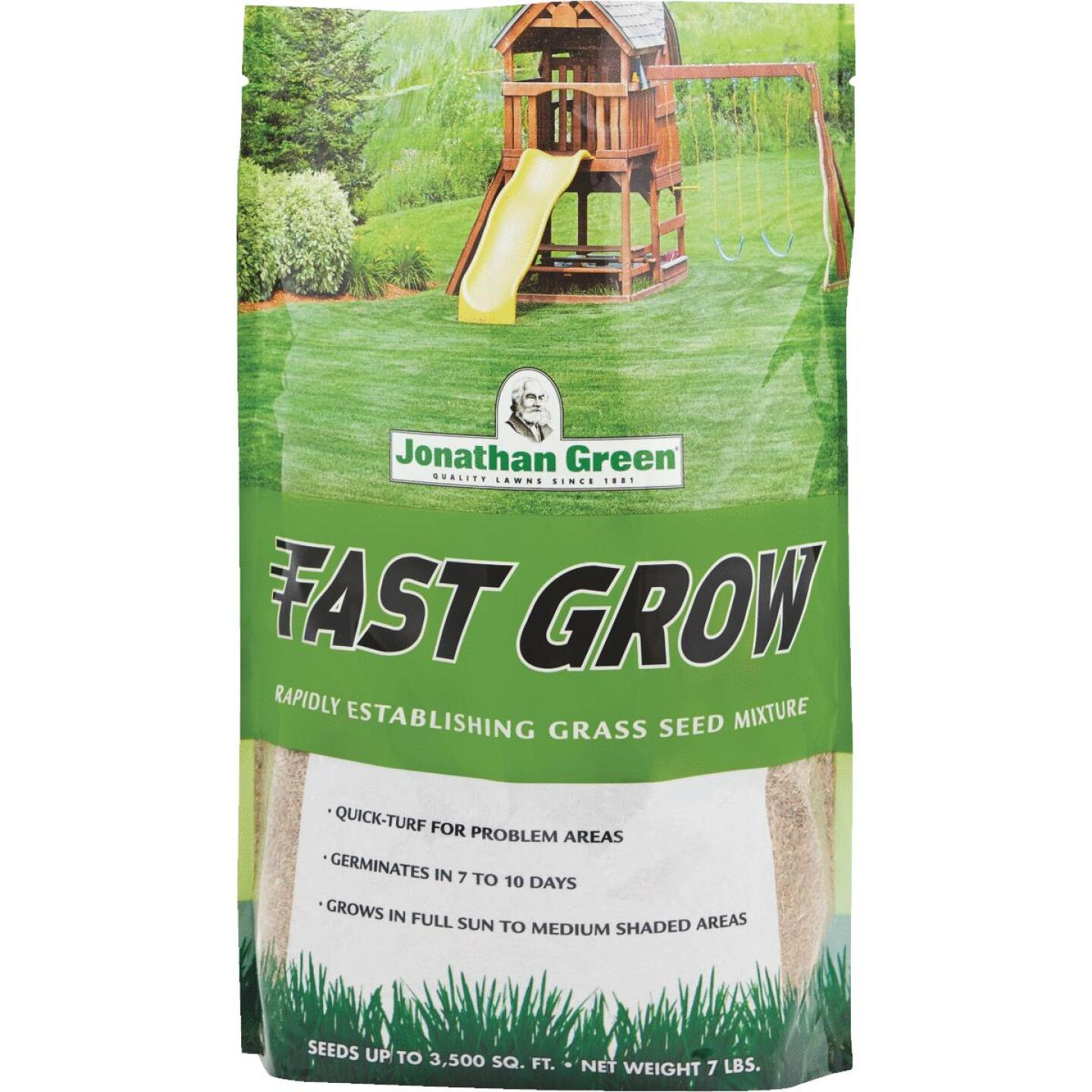 Jonathan Green Fast Grow 7 Lb. 1750 Sq. Ft. Coverage Ryegrass & Fescue Grass Seed Image 1
