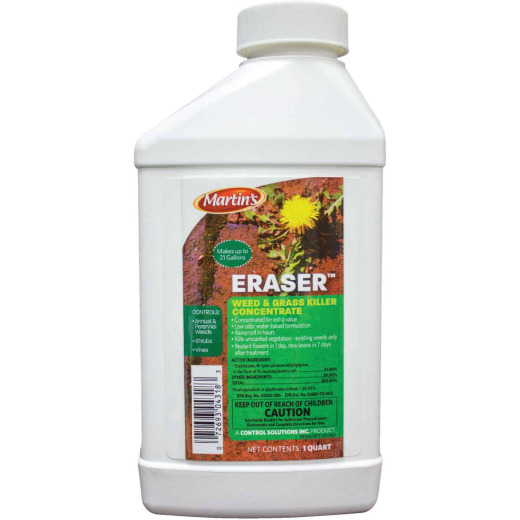 Martin's Eraser 1 Qt. Concentrate Weed & Grass Killer