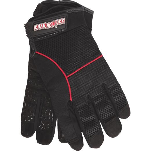 Channellock Men's 2XL Synthetic Leather Utility Grip High Performance Glove