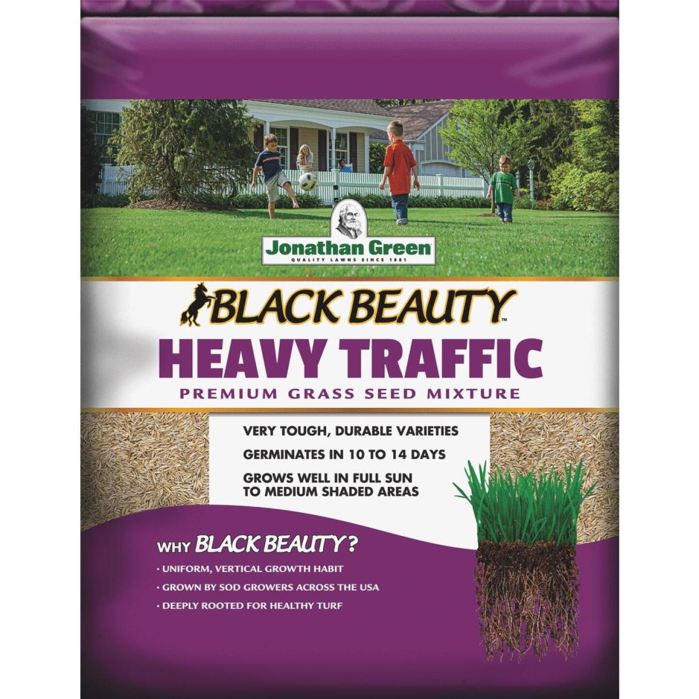 Jonathan Green Heavy Traffic 7 Lb. 1400 Sq. Ft. Coverage Grass Seed Image 1
