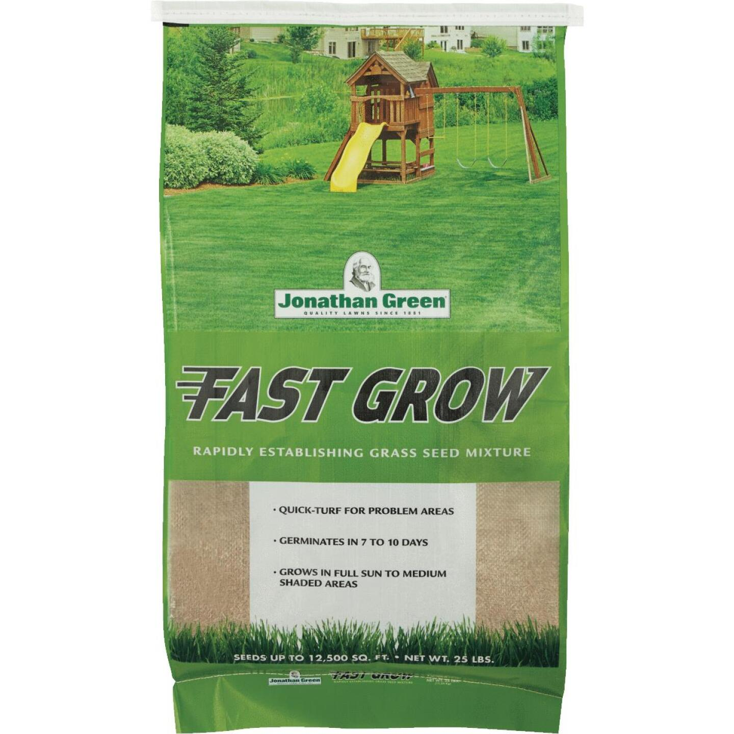 Jonathan Green Fast Grow 25 Lb. 6250 Sq. Ft. Coverage Ryegrass & Fescue Grass Seed Image 1