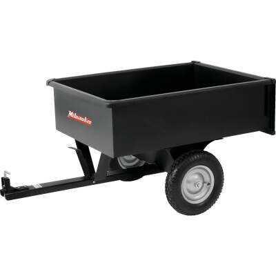 Precision 10 Cu. Ft. 750 Lb. Steel Tow-Behind Garden Cart