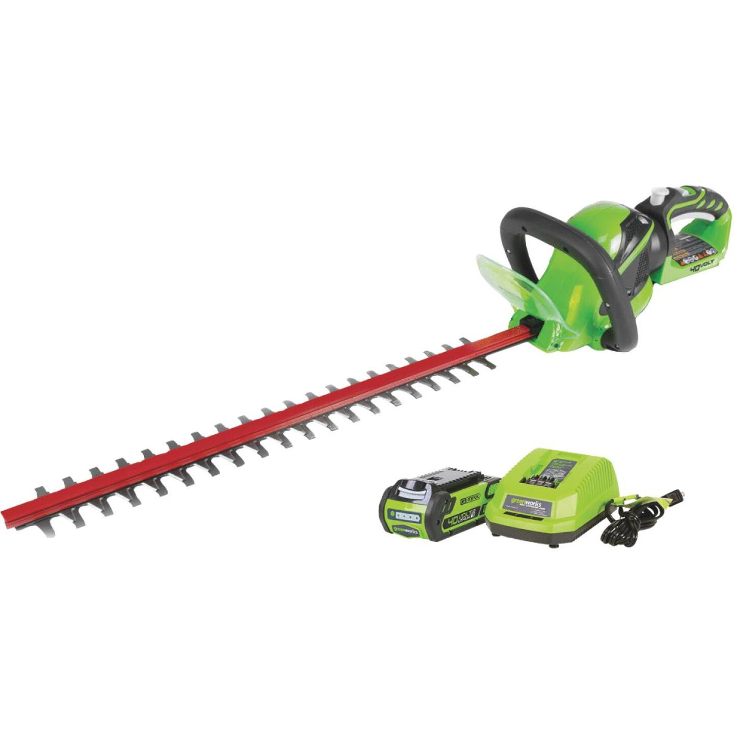Greenworks G-Max 24 In. 40V Cordless Hedge Trimmer Image 1