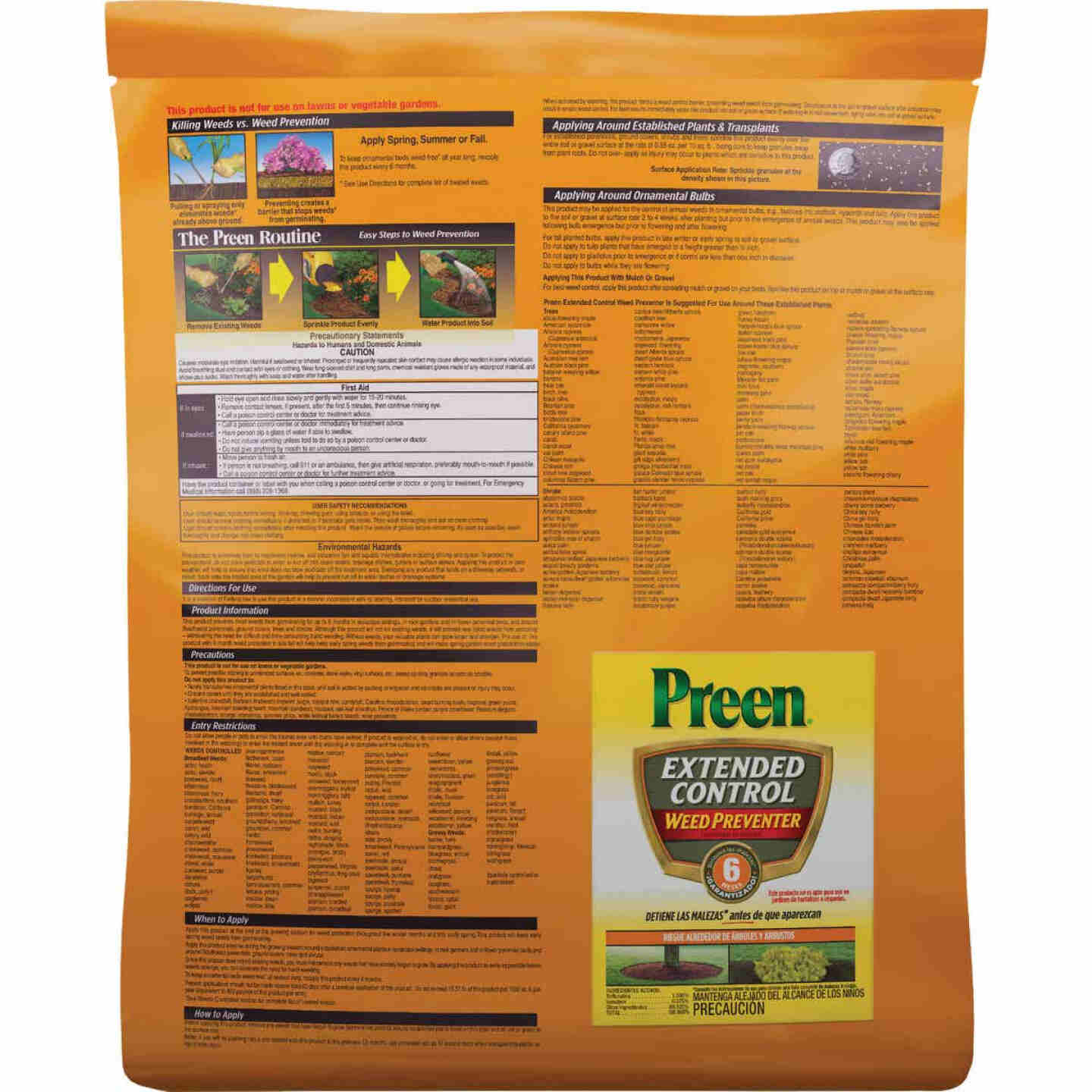 Preen Extended Control Weed Preventer, 10 Lb. Image 2