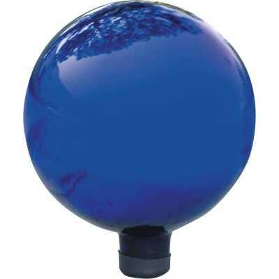 Alpine 10 In. Dia. Electric Blue Glass Gazing Globe