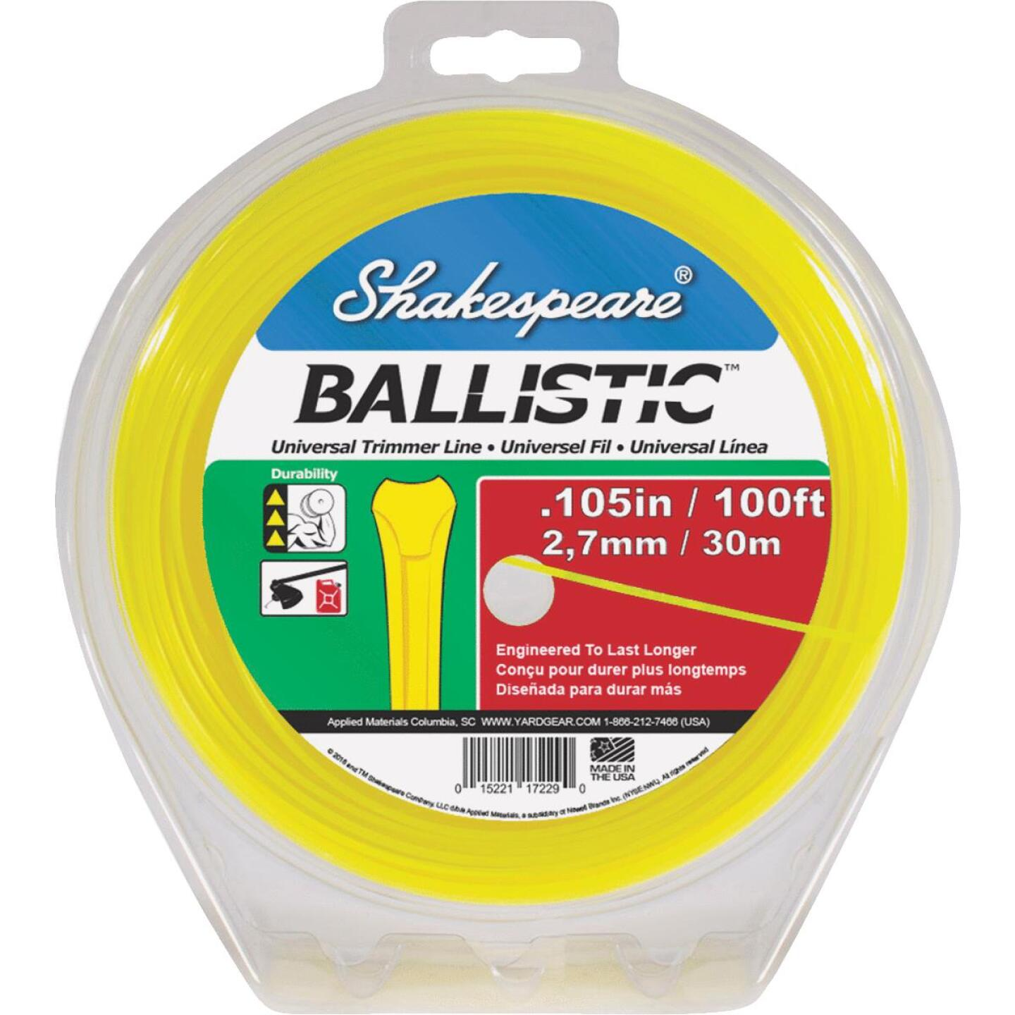 Shakespeare Ballistic 0.105 In. x 100 Ft. Universal Trimmer Line Image 1