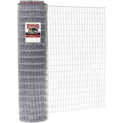 Keystone Red Brand 60 In. H. x 100 Ft. L. Galvanized Steel Class 1 Square Deal Non-Climb Horse Fence