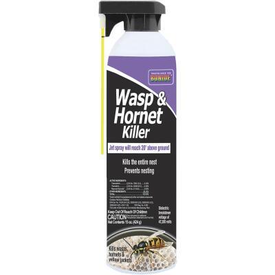 Bonide 15 Oz. Liquid Aerosol Spray Wasp & Hornet Killer