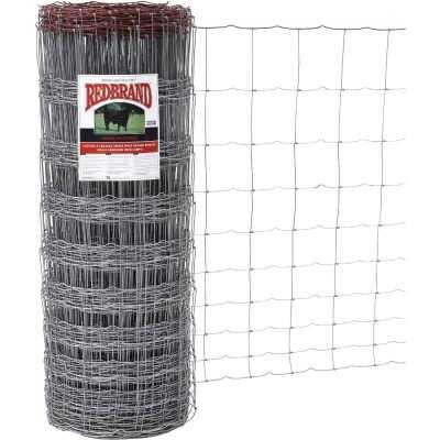Keystone Red Brand 47 In. H. x 330 Ft. L. Galvanized Steel Monarch Field Fence