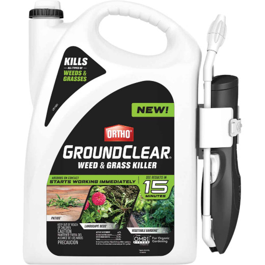 Ortho GroundClear 1 Gal. Ready To Use Wand Sprayer Weed & Grass Killer