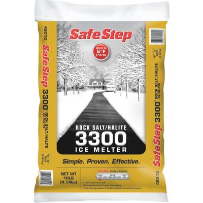 Safe Step 3300 10 Lb. Rock Salt/Halite Ice Melt Large Pellets