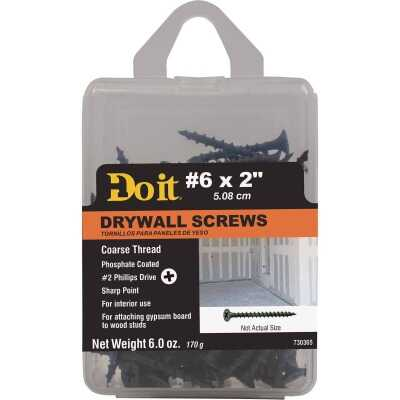 Do it #6 x 2 In. Coarse Thread Phosphate Drywall Screw