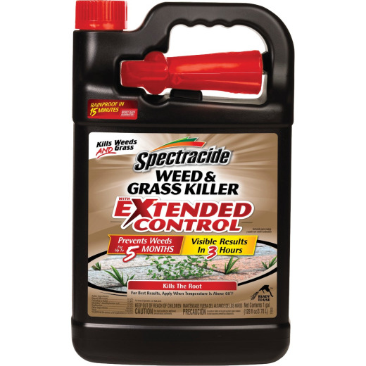 Spectracide 1 Gal. Ready To Use Trigger Spray Weed & Grass Killer with Extended Control