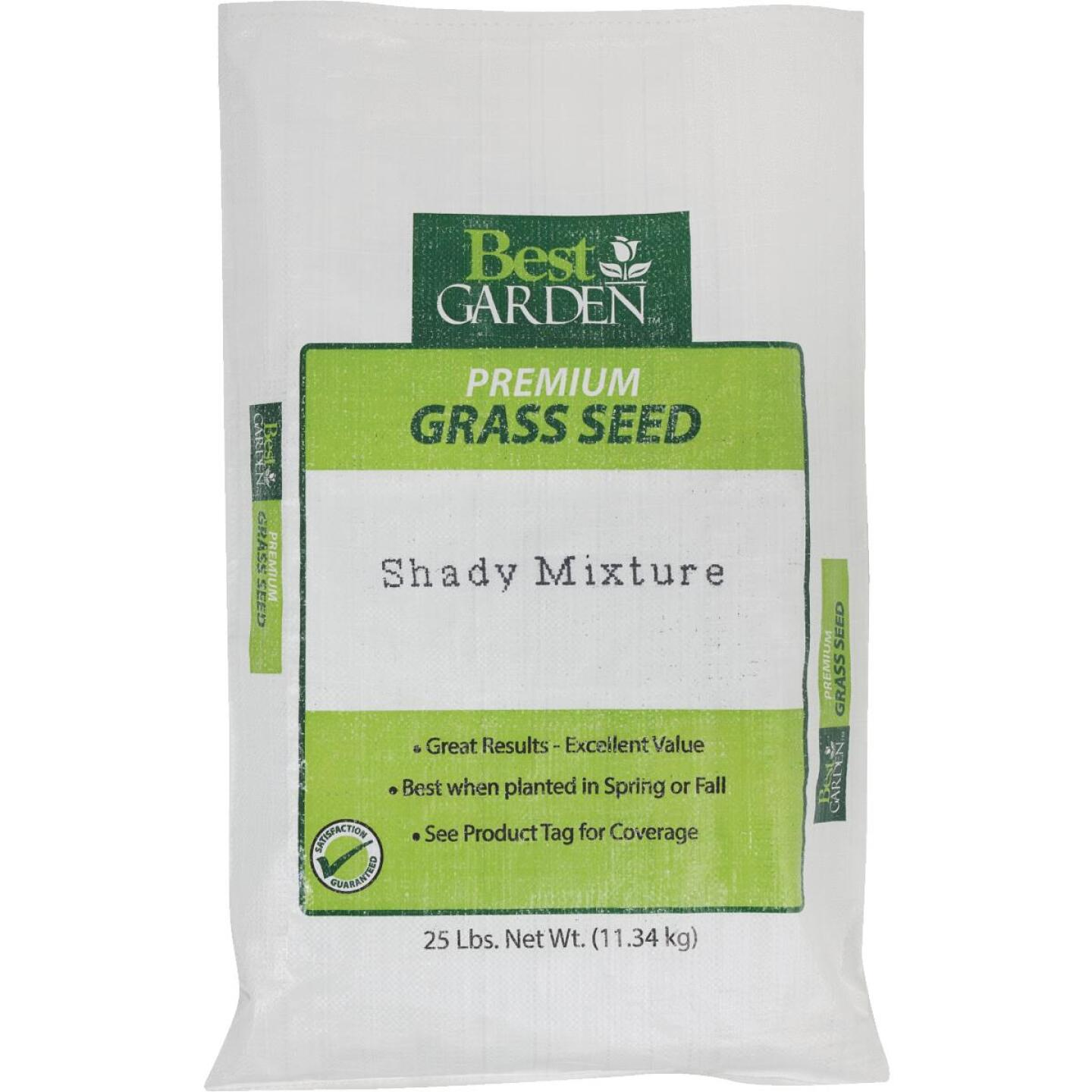 Best Garden 25 Lb. 7500 Sq. Ft. Coverage Shady Grass Seed Image 1