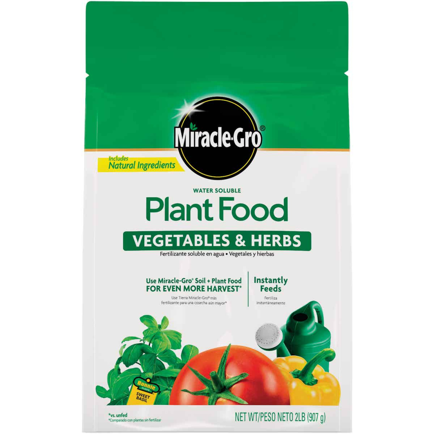 Miracle-Gro 2 Lb. 18-18-21 Vegetable & Herb Dry Plant Food Image 1
