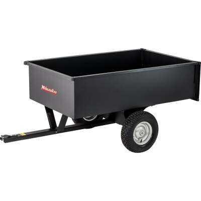 Precision 17 Cu. Ft. 1500 Lb. Steel Tow-Behind Garden Cart