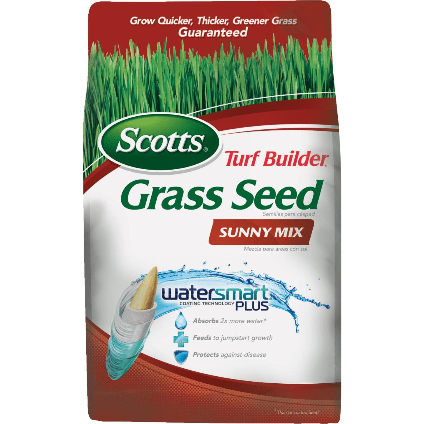 Scotts Turf Builder 3 Lb. Up To 1350 Sq. Ft. Coverage Sunny Grass Seed Image 1