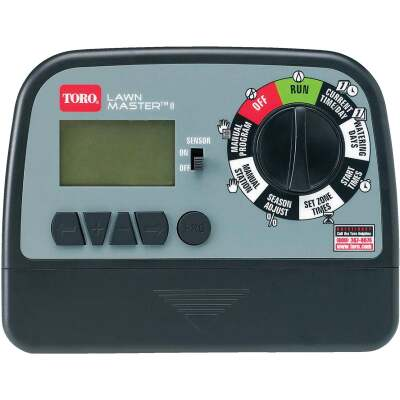 Toro Lawn Master II 6-Station Indoor Plug-In Sprinkler Timer