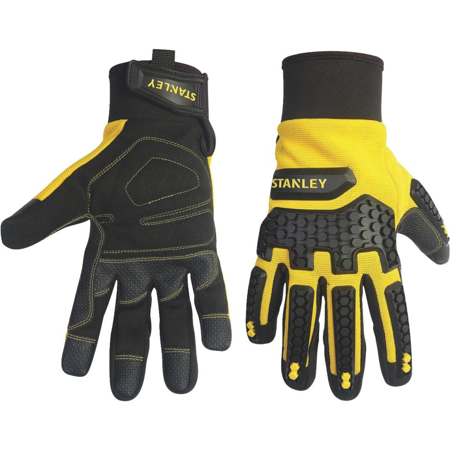 Stanley Impact Pro Men's Large Synthetic Leather High Performance Glove Image 1