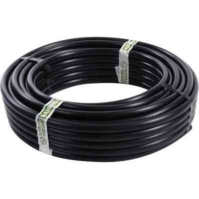 Raindrip 5/8 In. X 50 Ft. Black Poly Primary Drip Tubing
