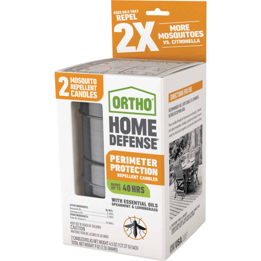 Ortho Home Defense 4.5 Oz. Mosquito Repellent Candle (2-Pack)