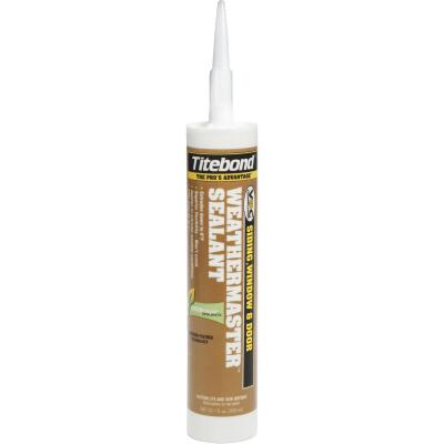 Titebond WeatherMaster 10 Oz. Polymer Sealant, 44031 Black