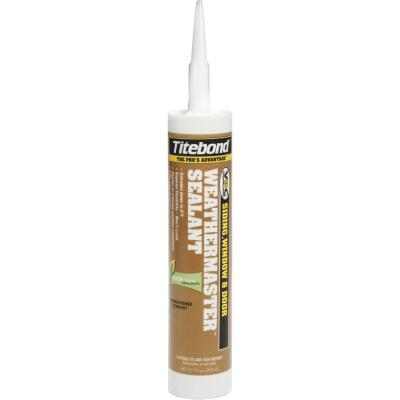 Titebond WeatherMaster 10 Oz. Polymer Sealant, 44771 Clay