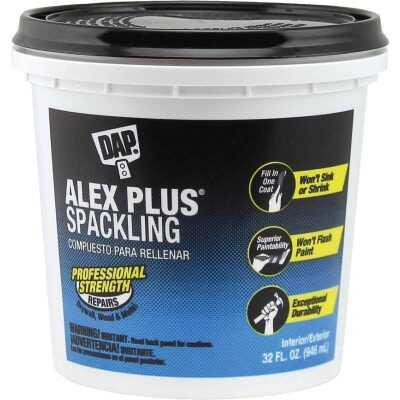 DAP ALEX PLUS 32 Oz. Professional Latex Spackling