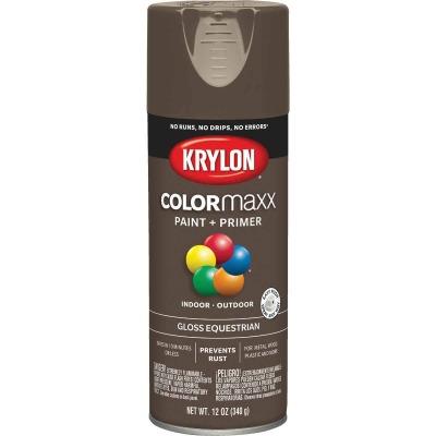 Krylon ColorMaxx 12 Oz. Gloss Spray Paint, Equestrian