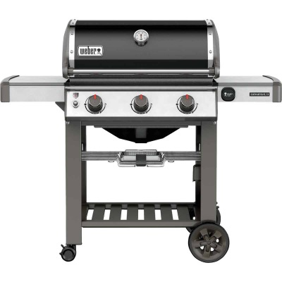 Weber Genesis II SE-310 3-Burner Black 37,500-BTU Natural Gas Grill