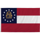Valley Forge 3 Ft. x 5 Ft. Nylon Georgia State Flag Image 1