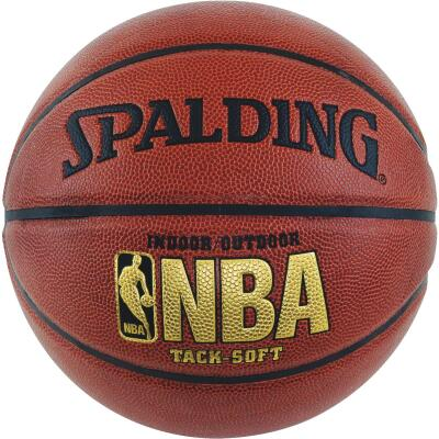 Spalding Indoor/Outdoor Tack-Soft Basketball, Official Size