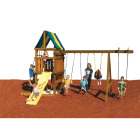 Swing N Slide Alpine Custom Ready-To-Build Swing Set Kit Image 2