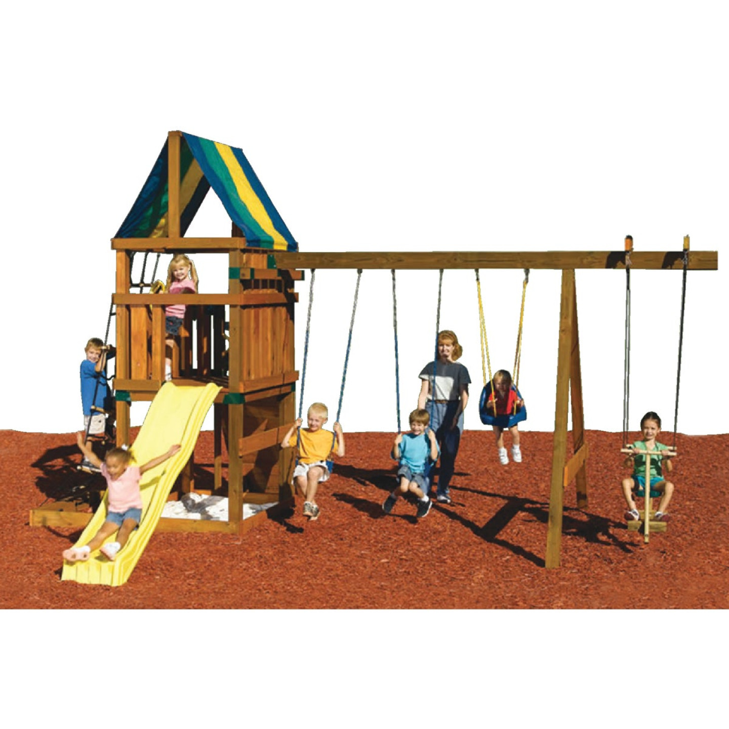 Swing N Slide Alpine Custom Ready-To-Build Swing Set Kit Image 3