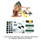 Swing N Slide Alpine Custom Ready-To-Build Swing Set Kit Image 4