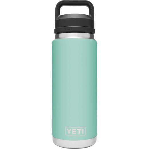 Yeti Rambler 26 Oz. Seafoam Stainless Steel Insulated Vacuum Bottle with Chug Cap