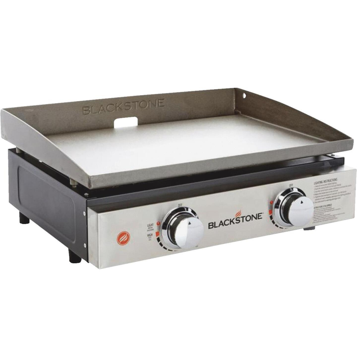 Blackstone Culinary Series 22 361 Sq. In. Table Top Gas Griddle with Hood Image 1