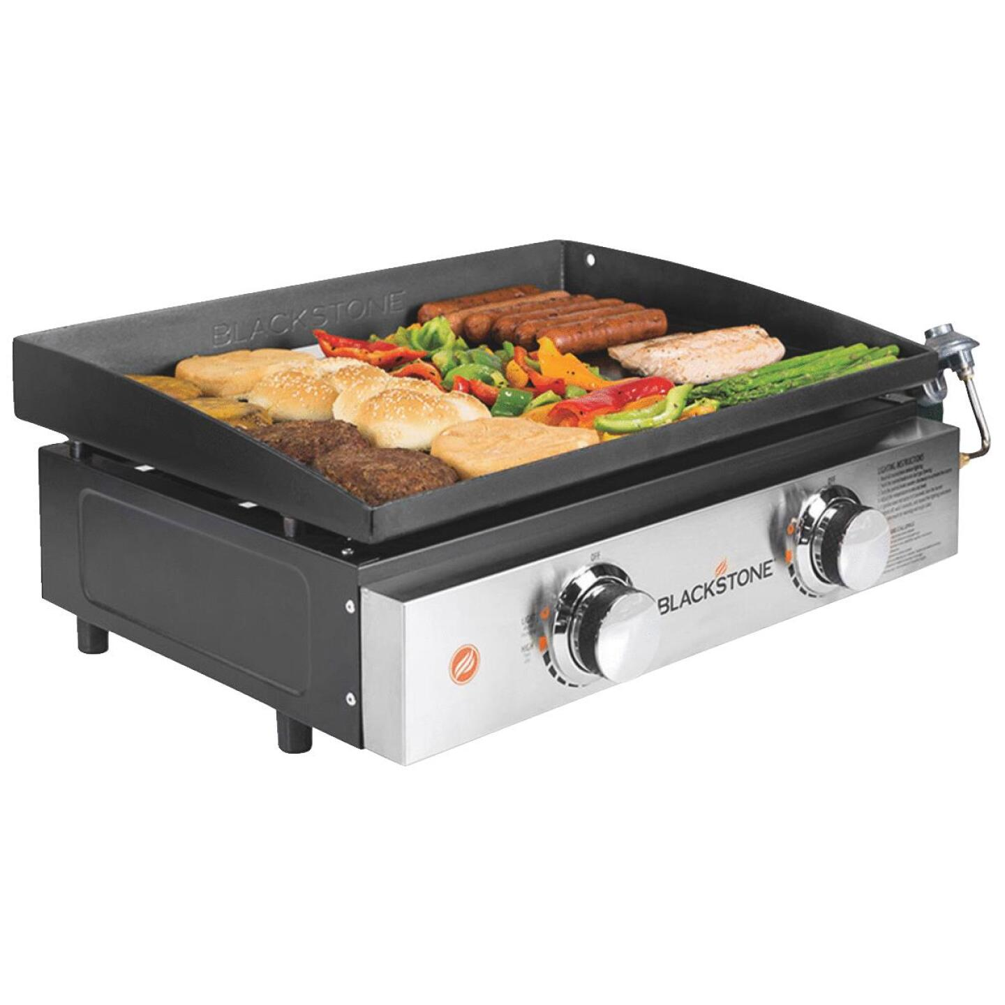 Blackstone Culinary Series 22 361 Sq. In. Table Top Gas Griddle with Hood Image 2